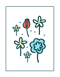 Bijen / vlindermix