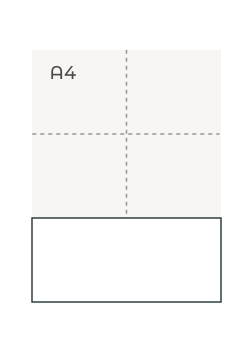 Boekenlegger M (99 x 210 mm)