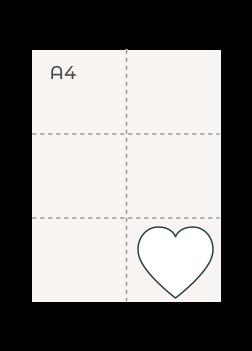 Heart (90 mm)